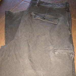 Dockers Classic Fit Cargo Pants, Dark Brown, EUC